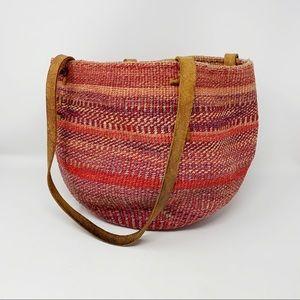 VTG Jute Sisal Woven Market Bag
